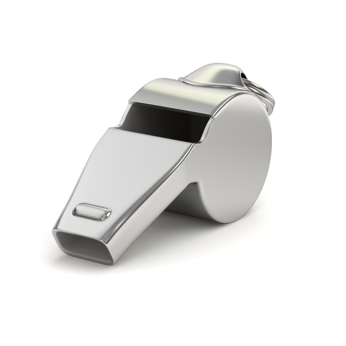 Referees whistle Silver - CURRIE RFC